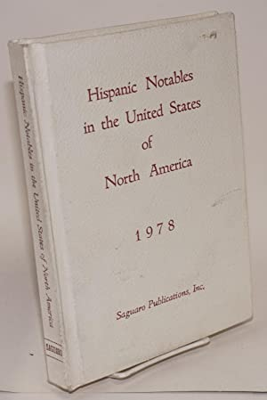Hispanic notables in the United States of North America, 1978: Chac?n, Jos? Andr?s