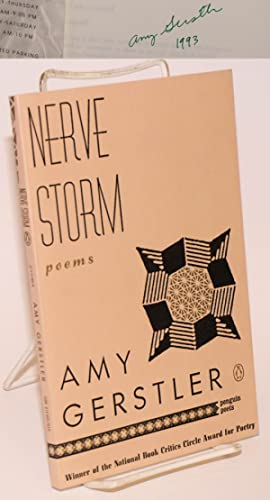 Nerve storm, poems