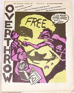 Overthrow: A Yippie Publication. Vol. 8, no. 2 (Summer 1986)