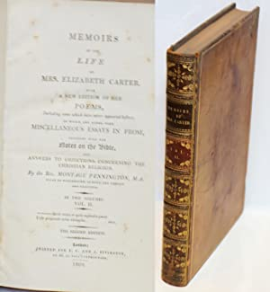 Memoirs of the Life of Mrs. Elizabeth Carter, with a New Edition of Her Poems, including some whi...