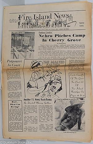 Fire Island News: vol. 12, no. 12, Ocean Beach, NY, August 10, 1968