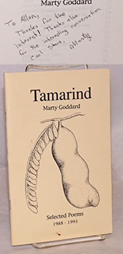 Tamarind; selected poems 1988 - 1993