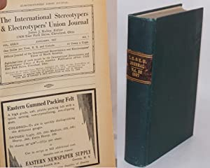 The International Stereotypers & Electrotypers' Union Journal. Vol. 32, no. 1, January, ...