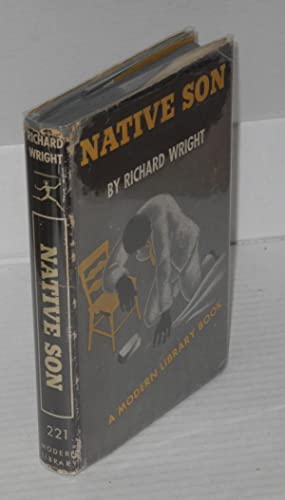 Native son, a Modern Library book: Wright, Richard