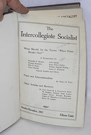 The Intercollegiate Socialist, October-November, 1917, vol. 6, no. 1 to April-May, 1919, vol. 7, no...