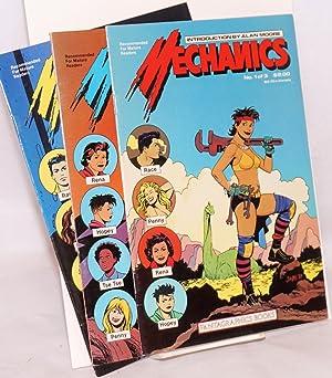 Mechanics; love and the rocket, #s 1-3: Hernandez, Jaime