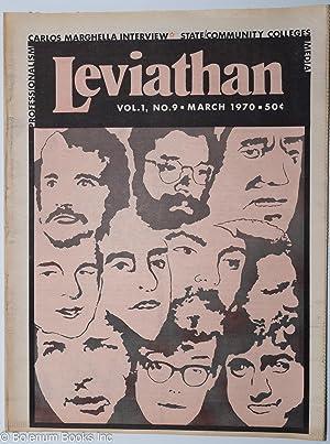 Leviathan. Vol. 1 No. 9 (March 1970). Carlos Marghella [sic] Interview: Marighella, Carlos]