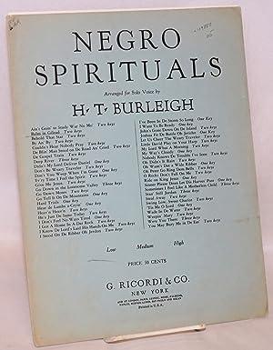 Balm in Gilead; arranged for solo voice: Burleigh, Harry Thacker, arranger