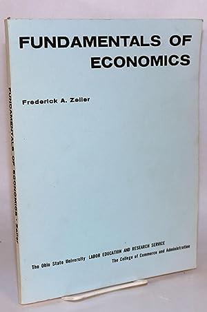 Fundamentals of economics: Zeller, Frederick A.