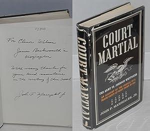 Court-martial; a black man in America: Marszalek, John F., Jr.