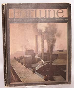Fortune Volume xxiii Number 6 June 1941: Luce, Henry R., chairman