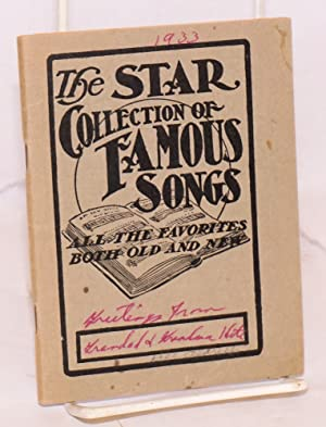 The Star collection of famous songs all the favorites both old and new: Crosbie, William