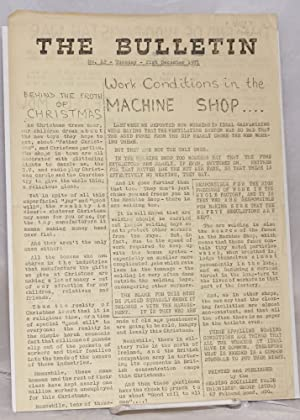 The Bulletin. No. 12 (Dec. 21, 1971): Reading Socialist Trade Unionists' Group (STUG)