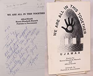 We are all in this together, poetry by Karen Elizabeth Muench and Alfred Kisubi, artwork by ...