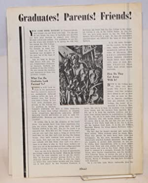 Four items from CCNY]: Communist Party Unit of City College; Young Communist League of City College
