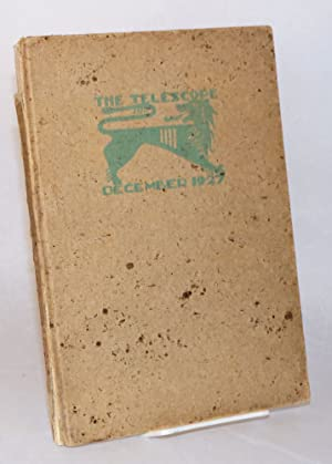 The Telescope, December 1927 A Record of: yearbooks]