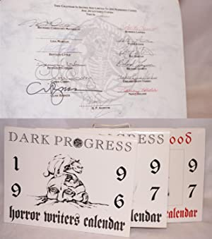 Horror Writers Calendars: 1996, 1997 and Days of Blood: Dracula centennial calendar 1997 [Three s...
