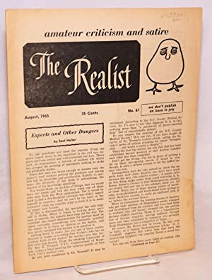 The realist [no.61], June 1965: Krassner, Paul, ed
