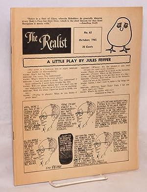 The Realist [no.63] October 1965: Krassner, Paul