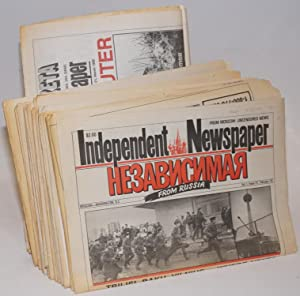 Independent Newspaper From Russia [Nevavisimaya Gazeta] [24 issue run]