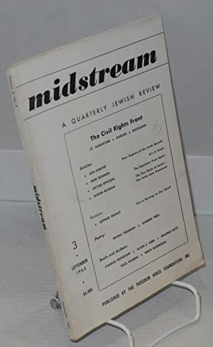 The civil rights front; St. Augustine, Harlem, Mississippi, in Midstream, a quarterly Jewish review...