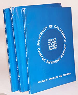 University of California Campus environs survey: volume 1: inventory and findings, volume 2: maps ...