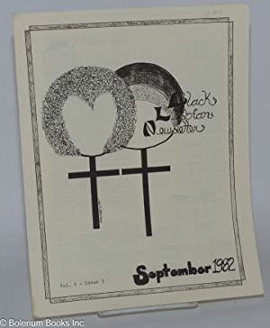 Black Lesbian Newsletter; [5 issue run - later title Onyx ] #2, August 1982 - #6, December 1982