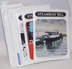 Steamboat Bill, Journal of The Steamship Historical Society of America. [six issues:] Number 192 ...