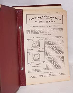 Practical Radio Job Sheet, nos.1-5 [with] Practical Technical Training in Radio-Television and ...