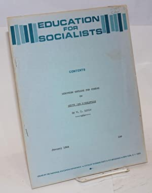 """Question outline for course on """"State and revolution"""" by V.I. Lenin: Socialist Workers ..."""
