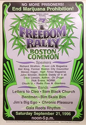 7th Annual Freedom Rally, Boston Common [poster]
