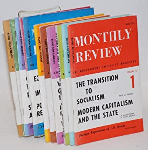 Monthly Review Volume 23, No. 1, May, 1971 to No. 11, April, 1972: Sweezy, eds., Paul and Harry ...