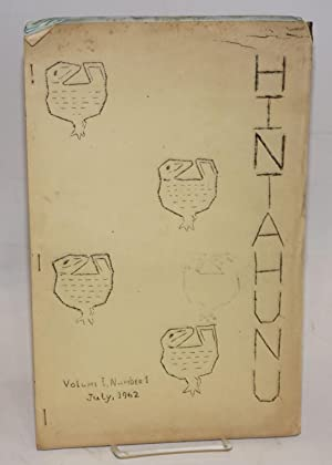 Hintahunu; volume one, number one, 13th July, 1962