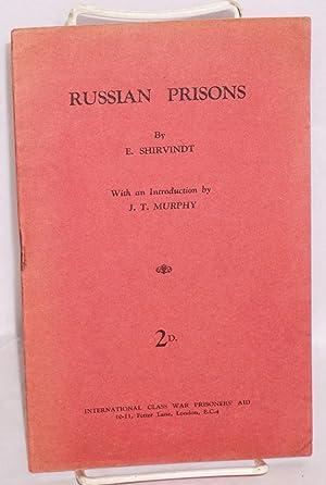 Russian prisons: Shirvindt, E.G.