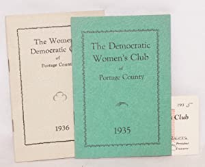 The democratic women's club of Portage County / 1935 [with] The women's democratic ...