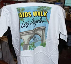 T-shirt for the 1991 AIDS Walk Los Angeles: AIDS Walk Los Angeles
