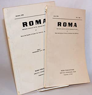 Roma: half-yearly journal on the life, language and culture of Roma (the Gypsies of Europe, the ...