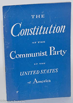 Constitution of the Communist Party of the U.S.A.: Communist Party, USA