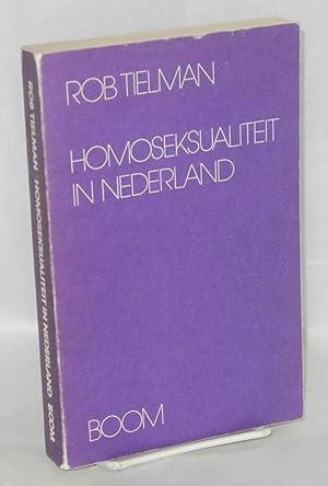 Homoseksualiteit in Nederland; studie van een emancipatiebeweging: Tielman, Rob
