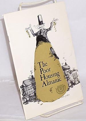 The poor housing almanac: Marcy, John