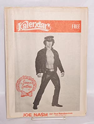 Kalendar Vol. 1, issue K24, December 20, 1972