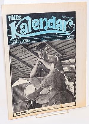 Kalendar Vol. 1, issue K16, September 1, 1972 (aka Times Kalendar)