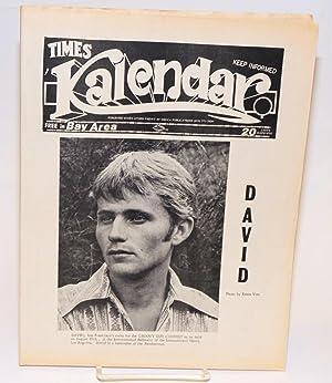 Kalendar Vol. 1, issue K14, August 4, 1972 (aka Times Kalendar)