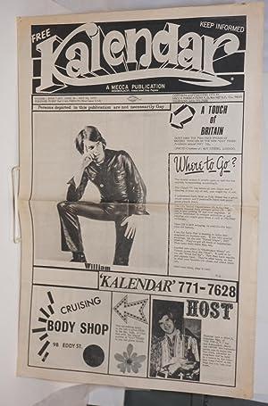 Kalendar Vol. 1, issue K7, April 28 - May 13, 1972