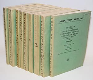 Unemployment problems. Hearings, Eighty-sixth Congress, first session, pursuant to S. Res. 196: ...