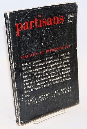 Partisans: 66-67, 1972; Sexualit? et r?pression (II)