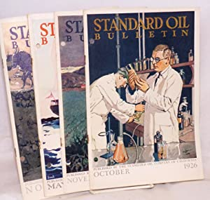 Standard Oil Bulletin published monthly by the Standard Oil company (California) [4 items]; volum...