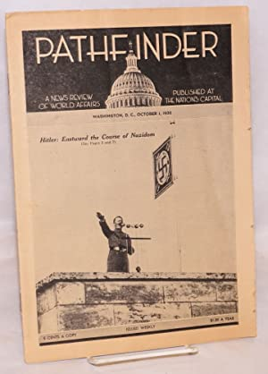Pathfinder; A news review of world affairs published at the nation's capital - Oct. 1, 1938: ...