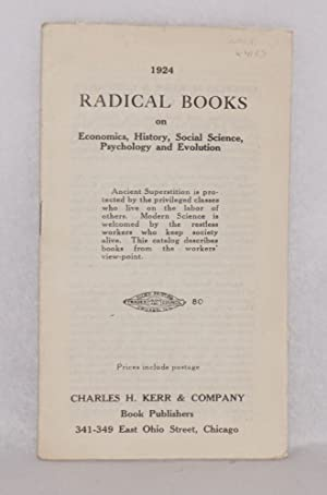 1924 radical books on economics, history, social science, psychology and evolution