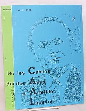 Les cahiers des amis d'Aristide Lapeyre